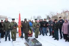 Митинг посвящённый 29-летию вывода советских войск из Афганистана